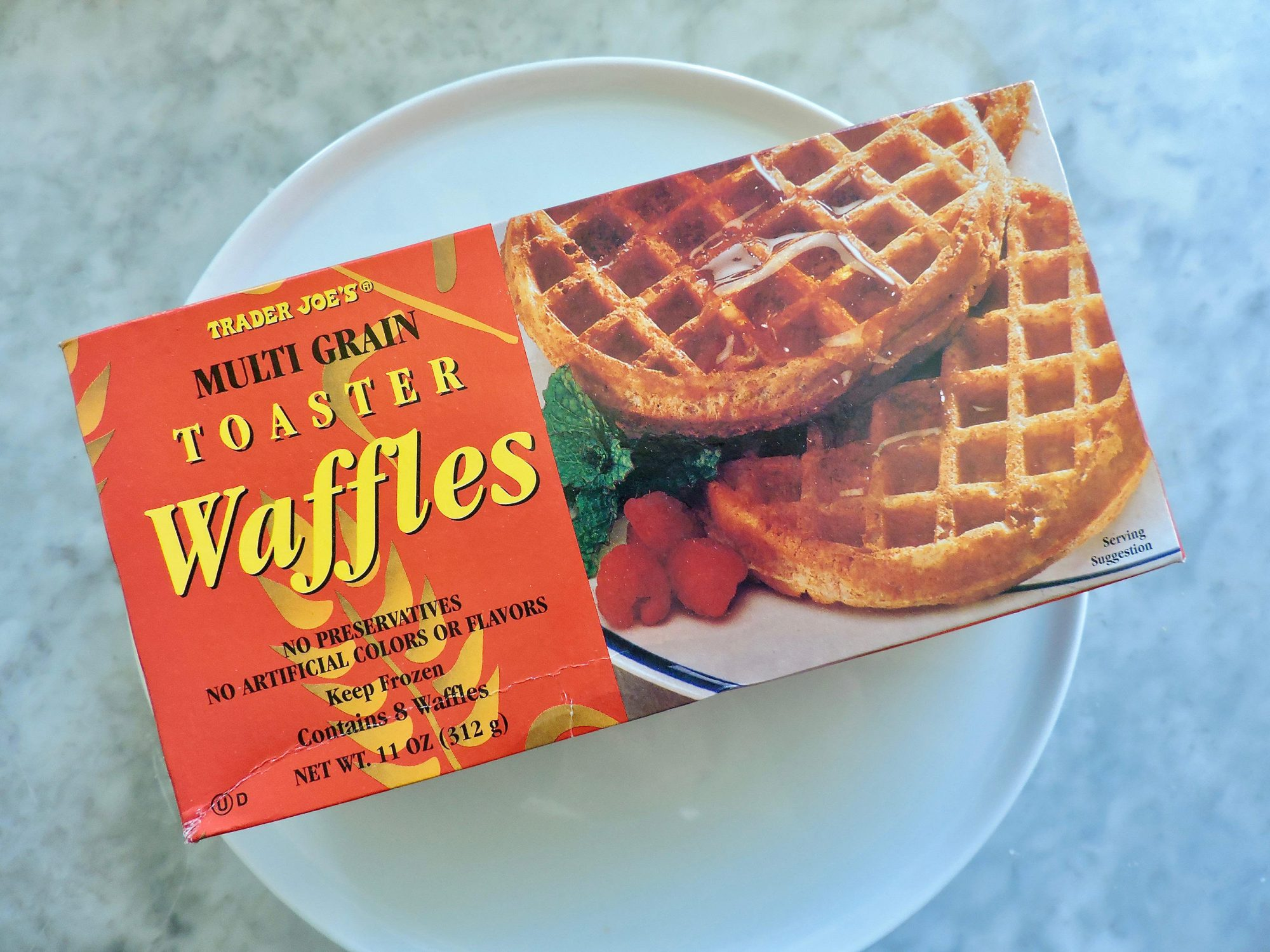 15 Nutritionist-Approved Trader Joe's Foods for $5 or Less 1804w-Multigrain-Toaster-Waffles