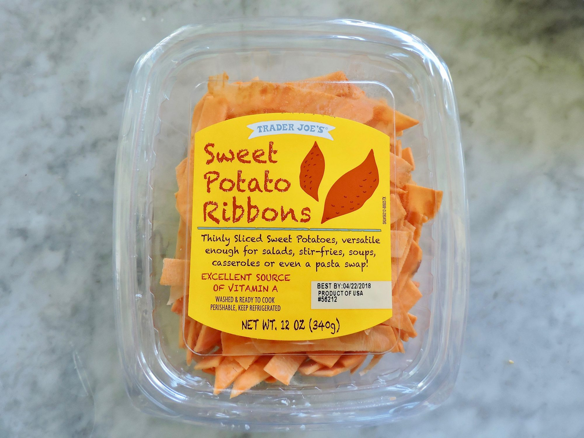 15 Nutritionist-Approved Trader Joe's Foods for $5 or Less 1804w-Trader-Joes-Sweet-Potato-Ribbons