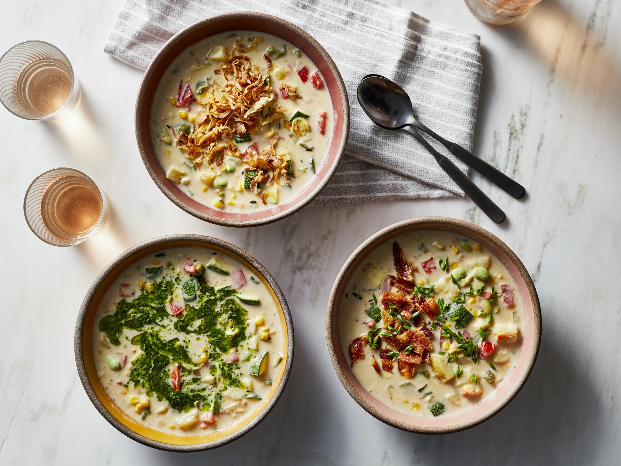 Summer Vegetable Chowder image