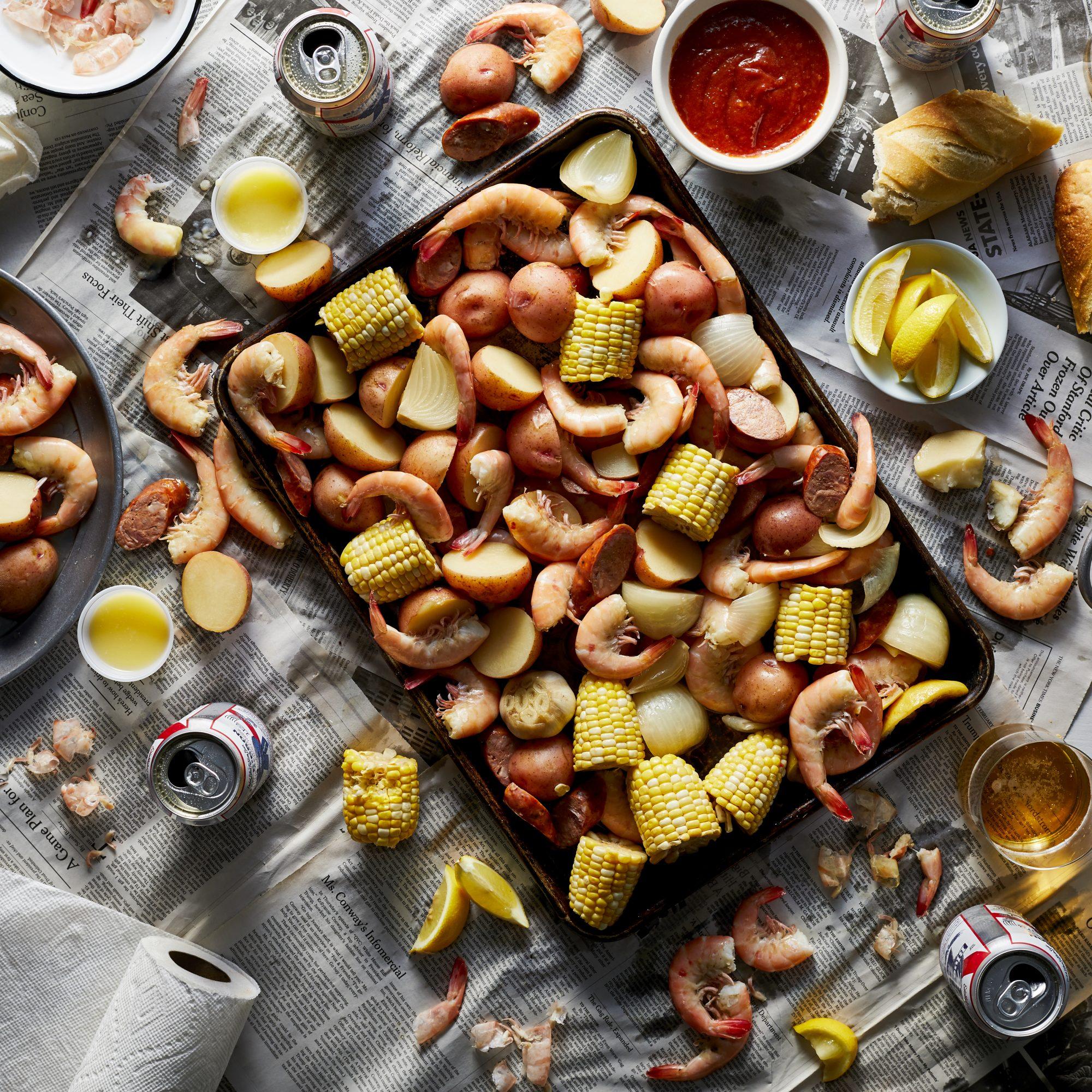 Slow Cooker Shrimp Boil image