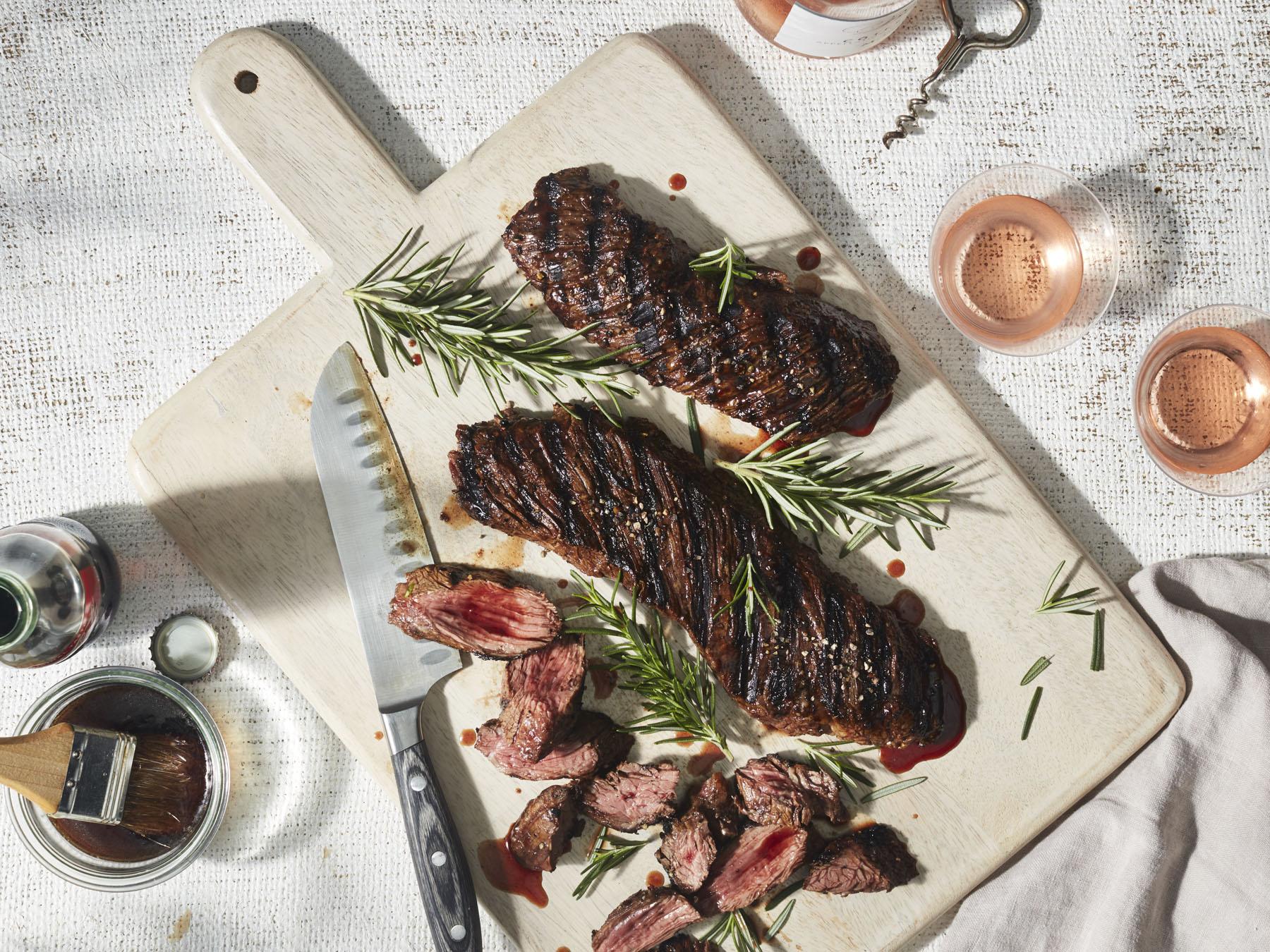 mr-Cola-Marinated Hanger Steak Image