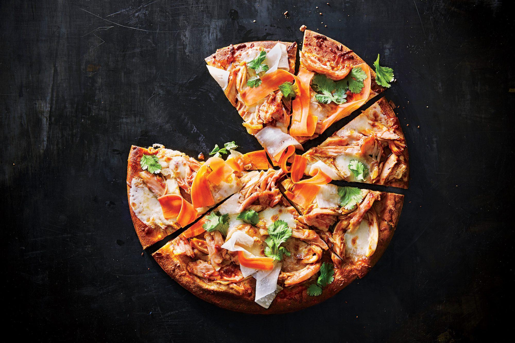 Korean Barbecue Pizza