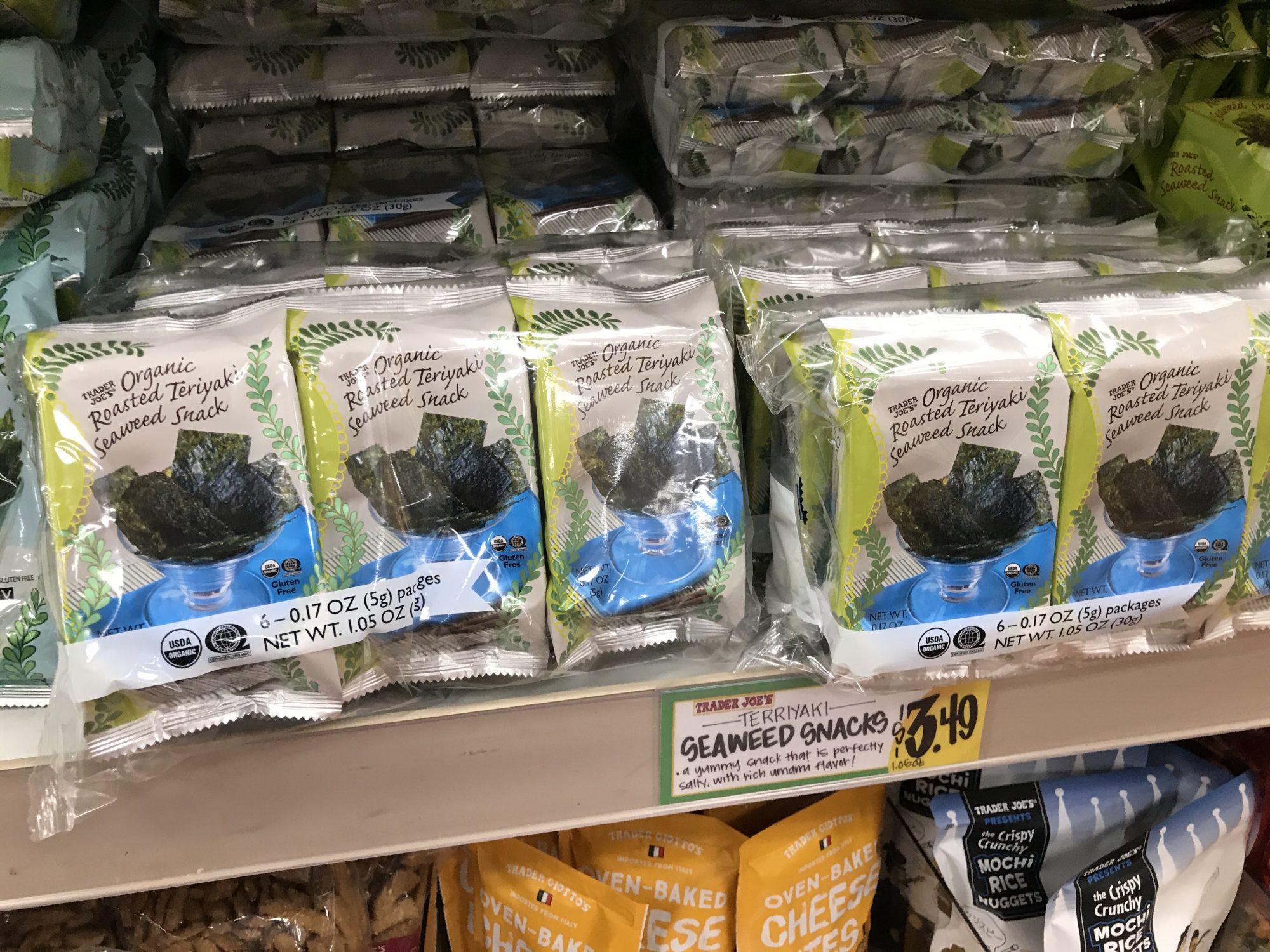 TJ Seaweed Snacks