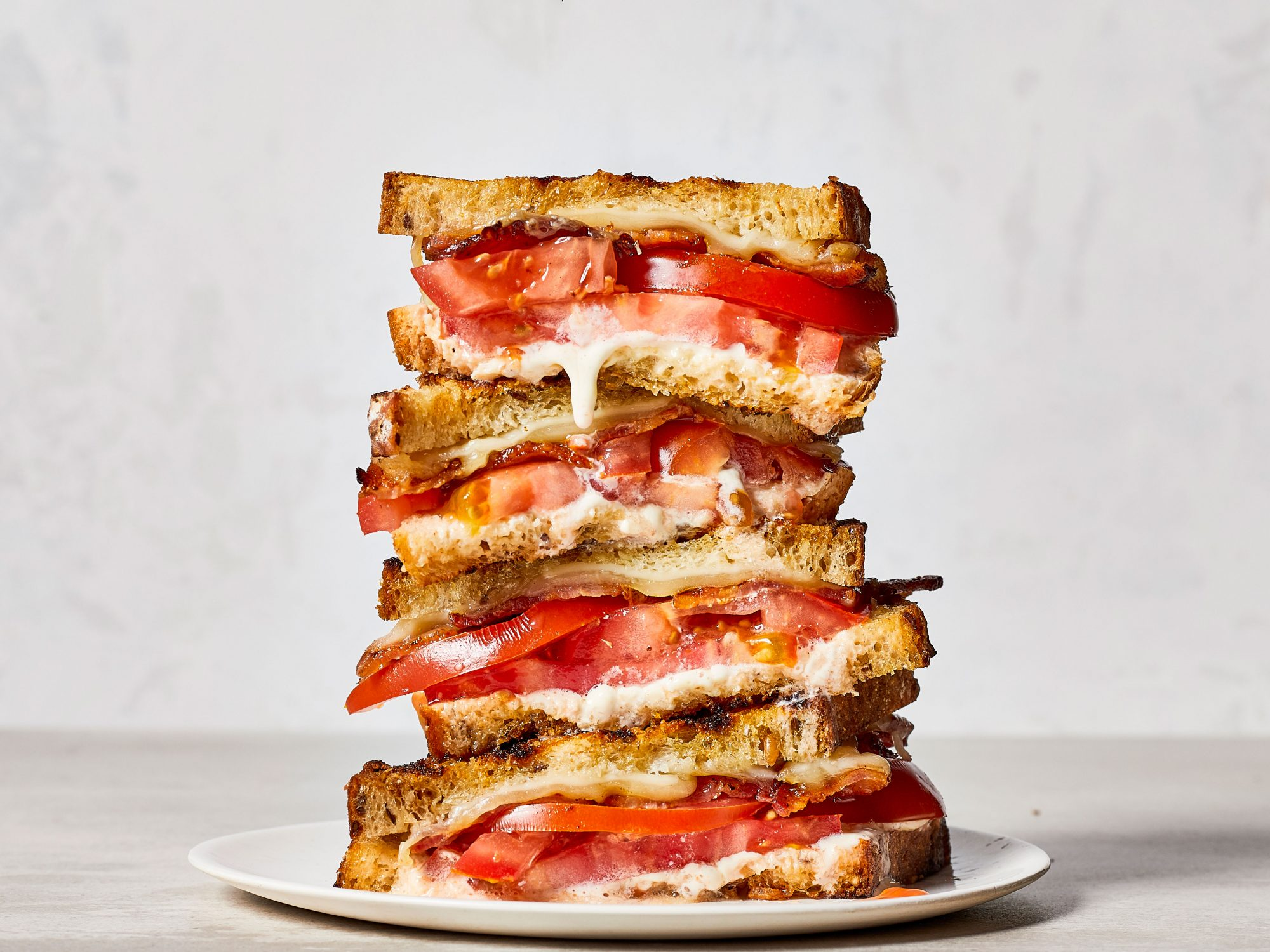 mr- Ultimate Grilled Tomato Sandwiches