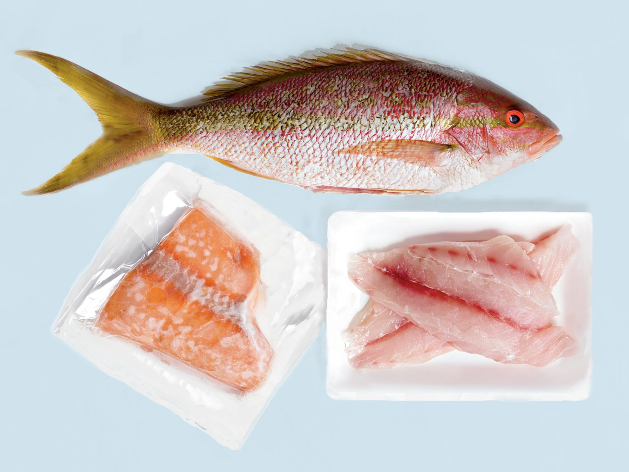 How to Portion Pre Packaged Fish Fillets