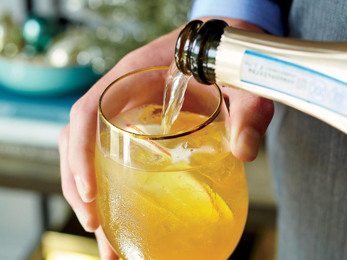 Fizzy Cider Punch