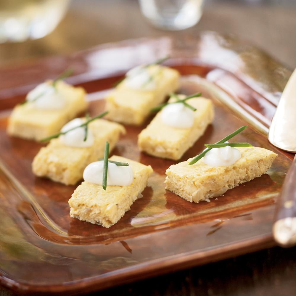 Onion Frittata Bites