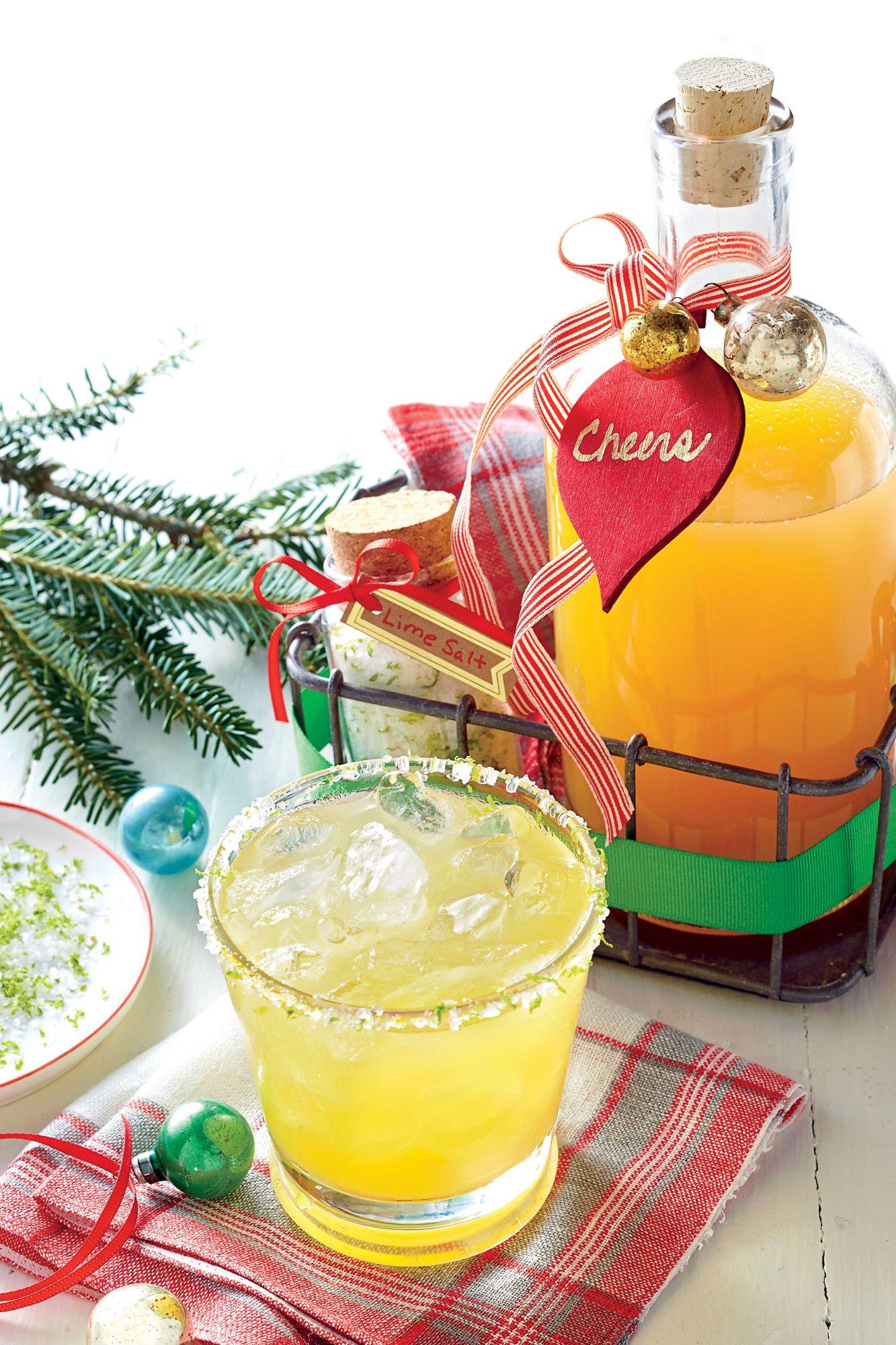 Pineapple Craft Cocktail with Lime Sea Salt