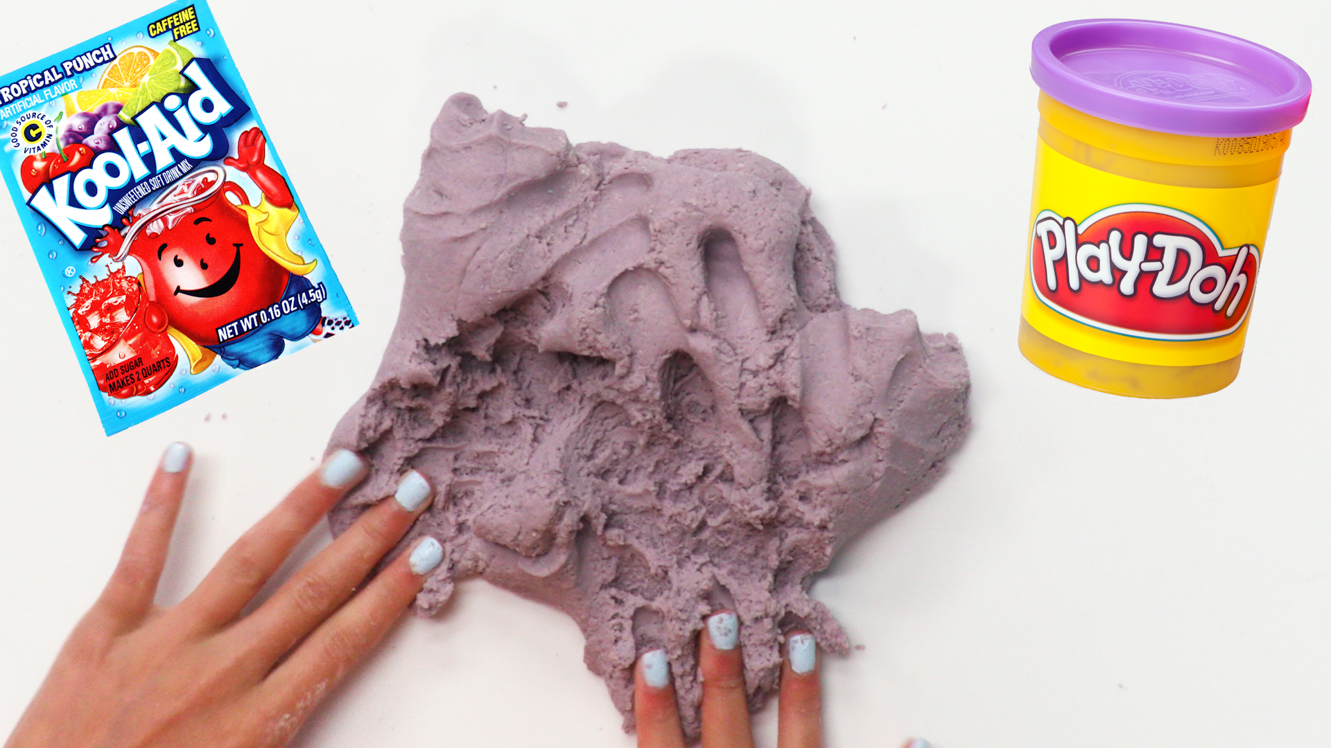 No-Cook Kool-Aid Playdough image