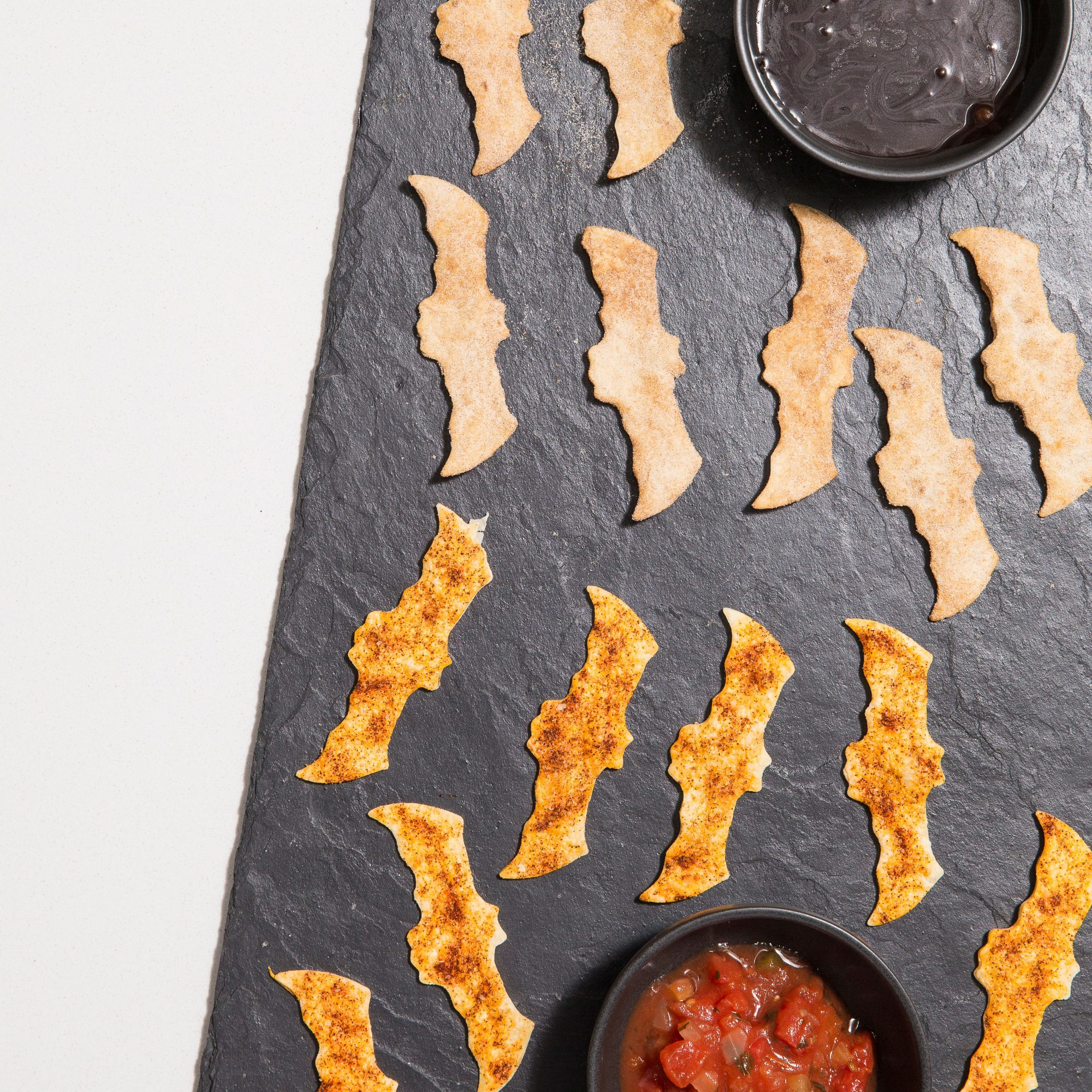 Sweet and Savory Tortilla Bats