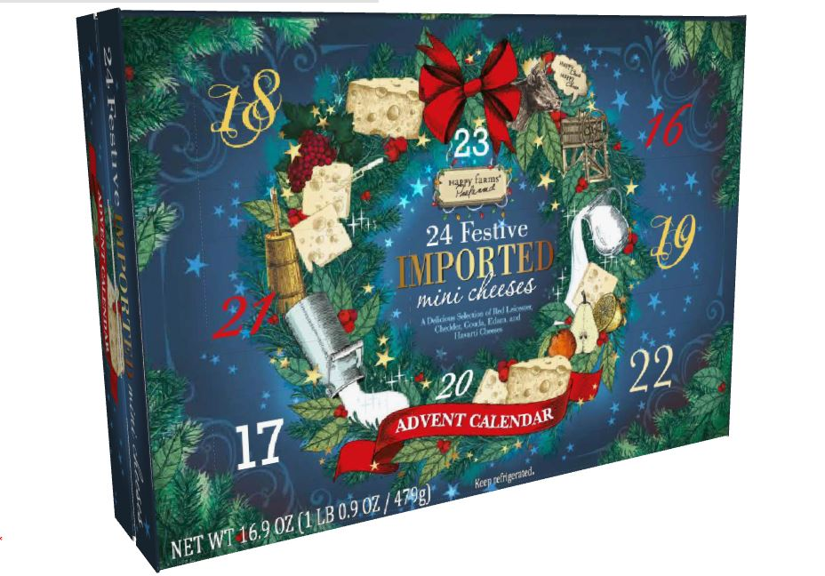 Aldi's Wine Advent Calendar Is Finally Coming to the U.S. aldi-cheese-advent-calendar-XL-BLOG0818