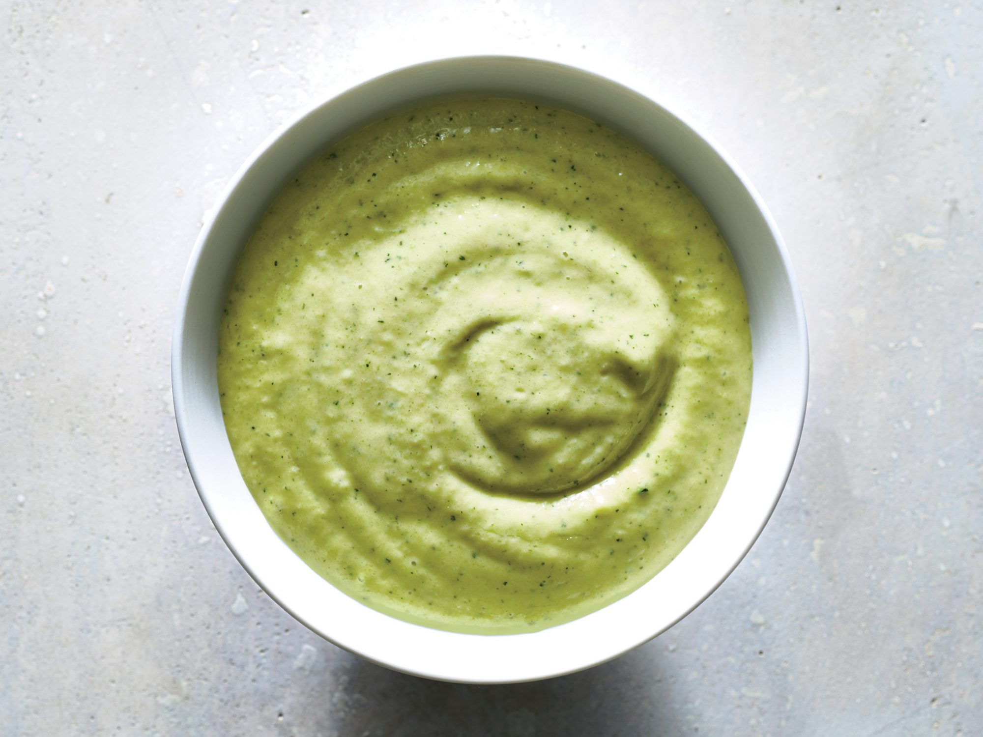 Creamy Zucchini-Lime Dressing