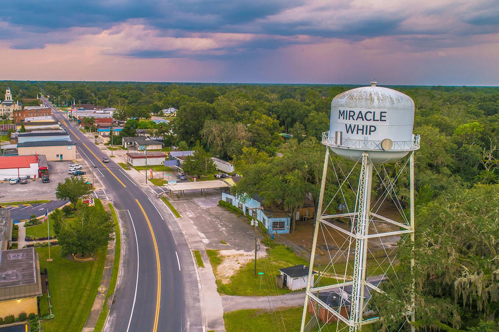 Mayo Florida Miracle Whip Water Tower