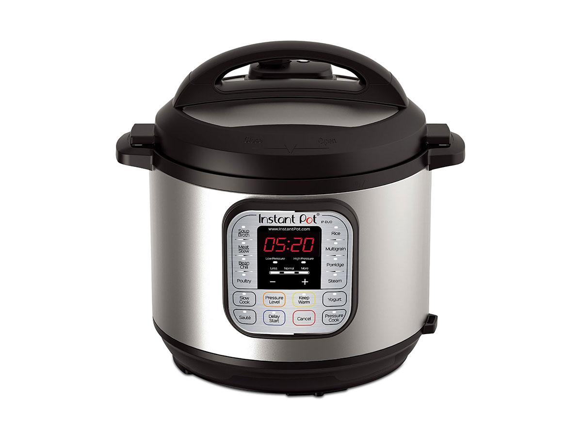 Instant Pot Duo 7-in-1 Programmable Pressure Cooker 6-QT.
