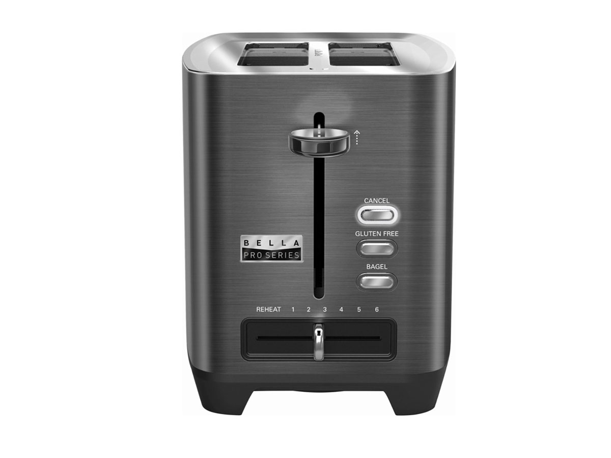 Bella Pro Series 2-Slice Extra-Wide-Slot Toaster