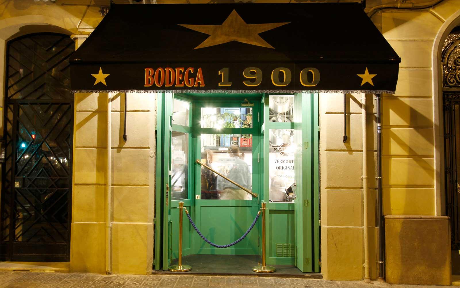 Bodega 1900 Vermouth in Barcelona