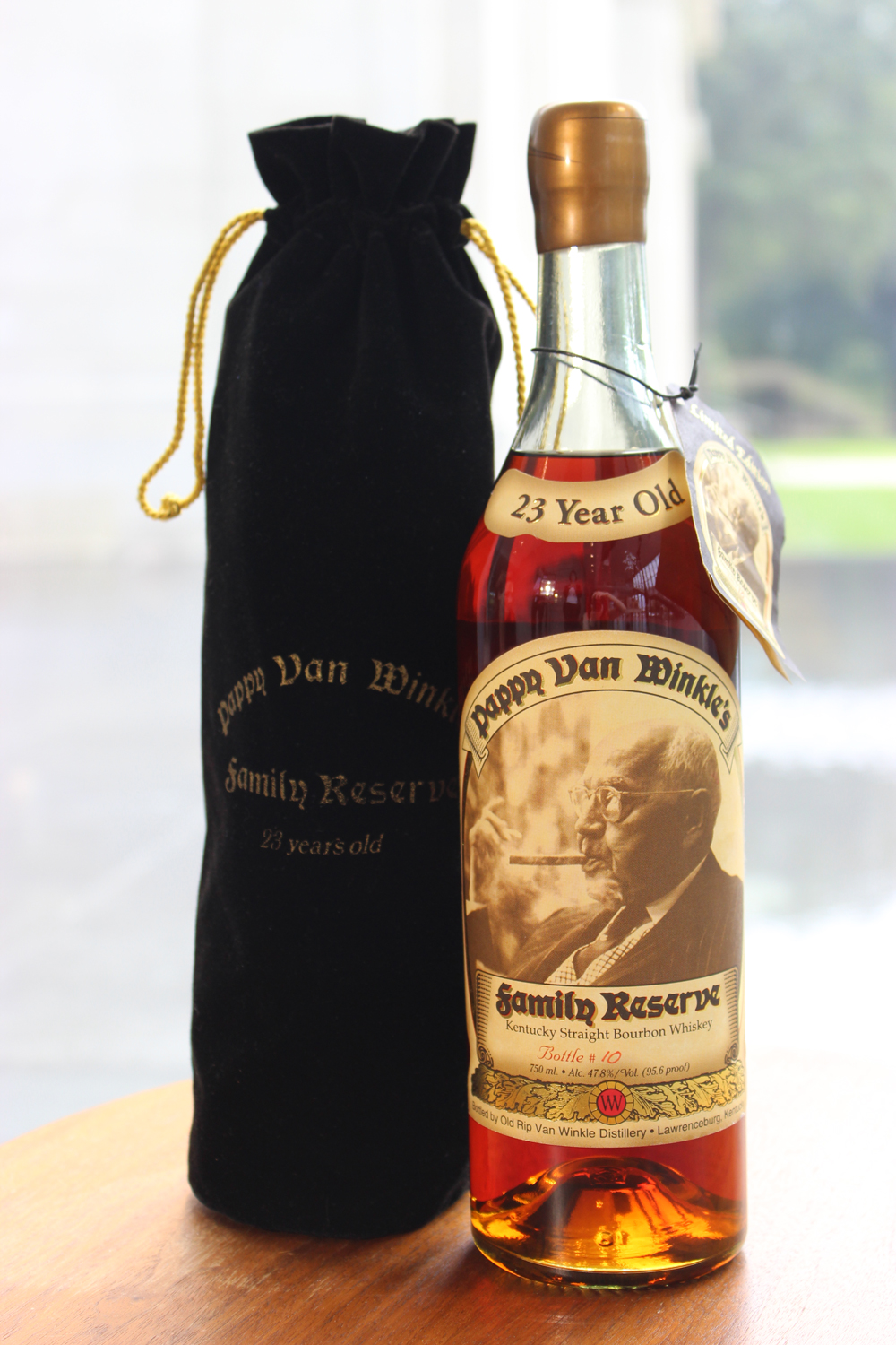 Ultra-Rare Pappy Van Winkle Family Reserve Bottle to Go Up For Auction pappy-auction-art-of-bourbon-XL-BLOG0918