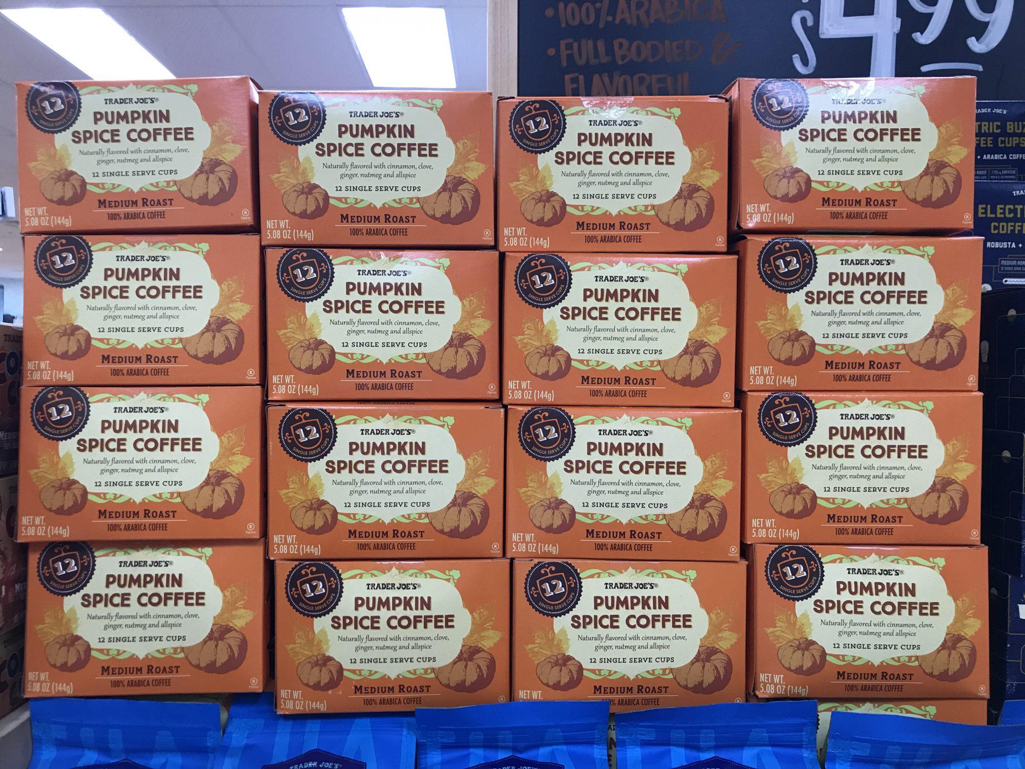 TJ Pumpkin Coffee