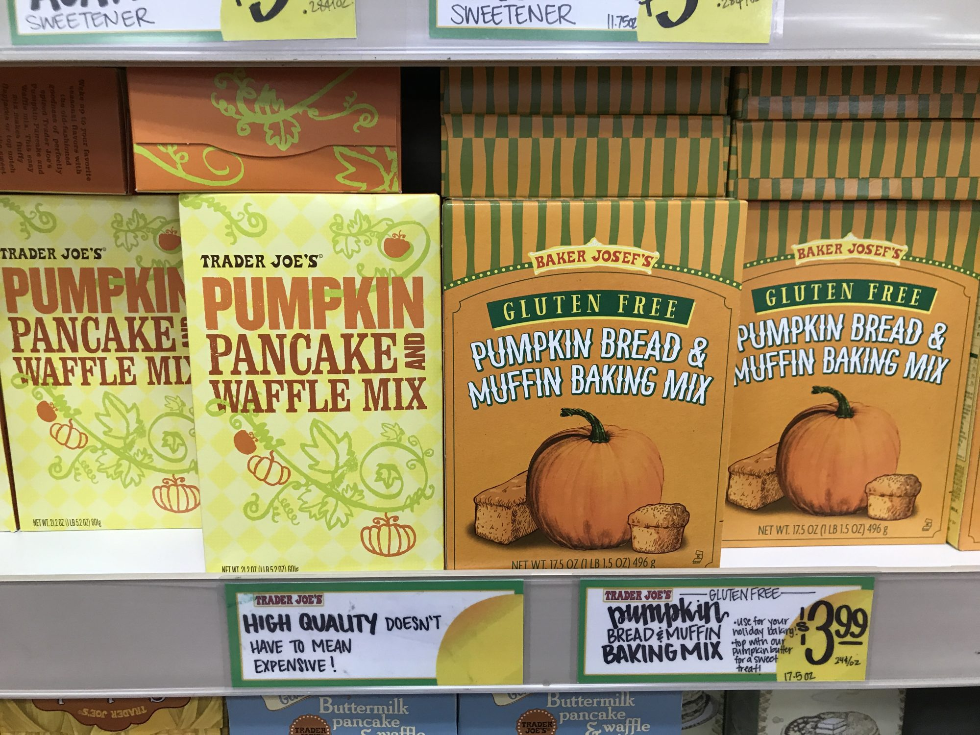 TJ's Pumpkin Pancake Mix