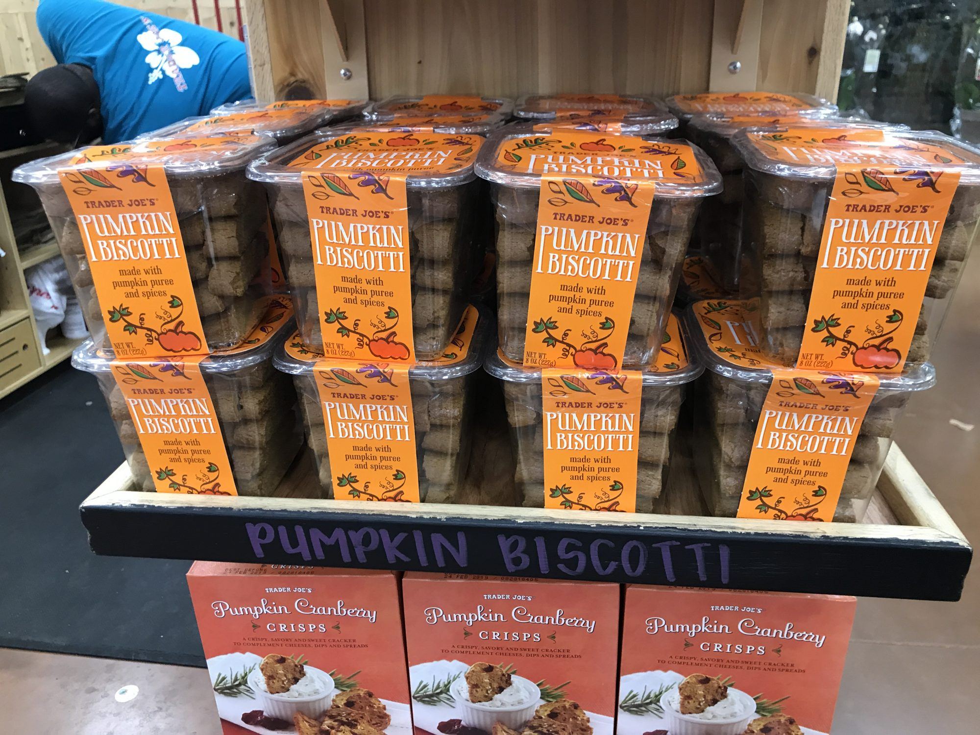 TJ's Pumpkin Biscotti