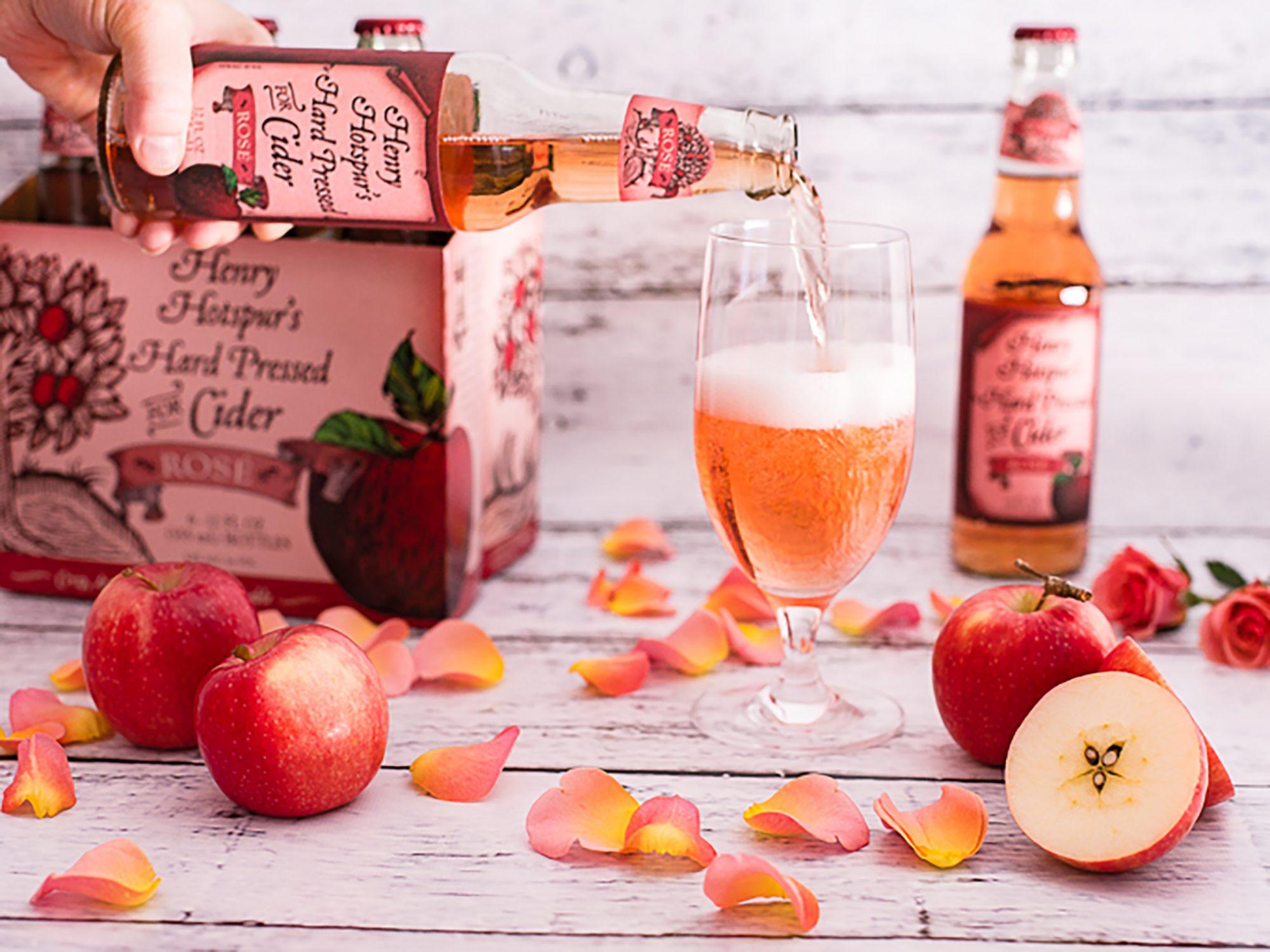 Trader Joe's Henry Hotspur's Hard-Pressed for Rosé Cider