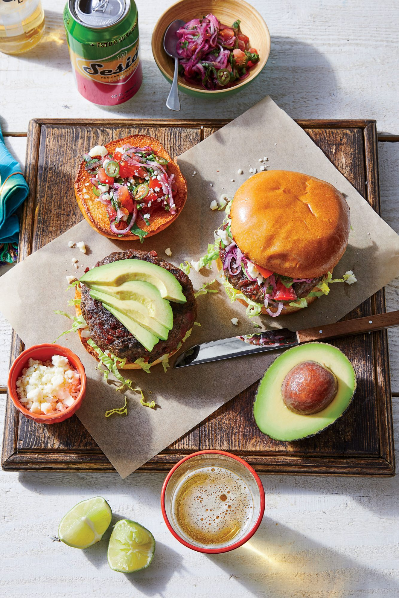 Mexican Chorizo Burger