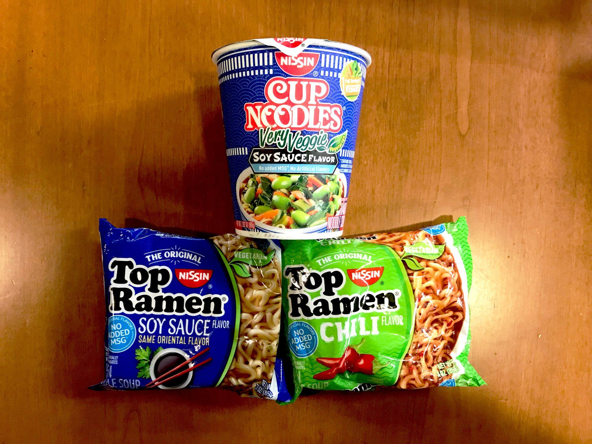 Vegetarian Cup Noodles
