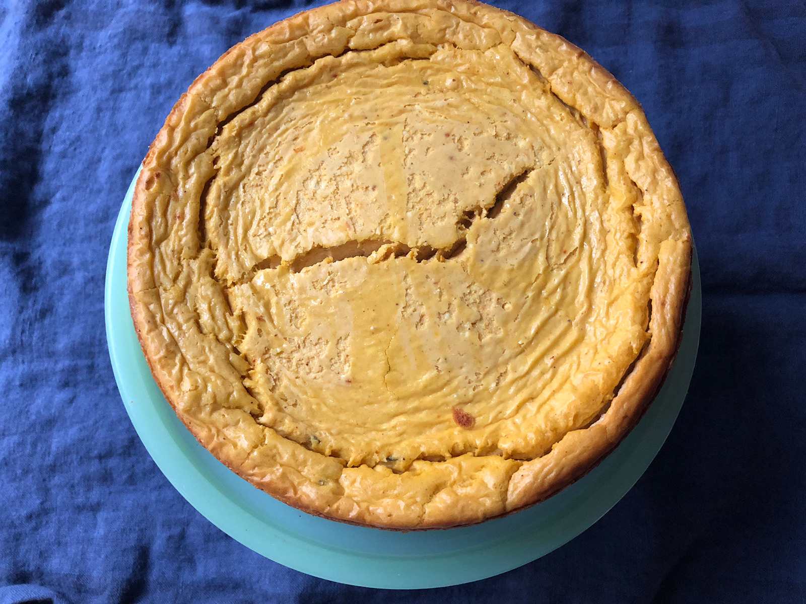 Savory Pumpkin Cheesecake Is Like a Little Miracle