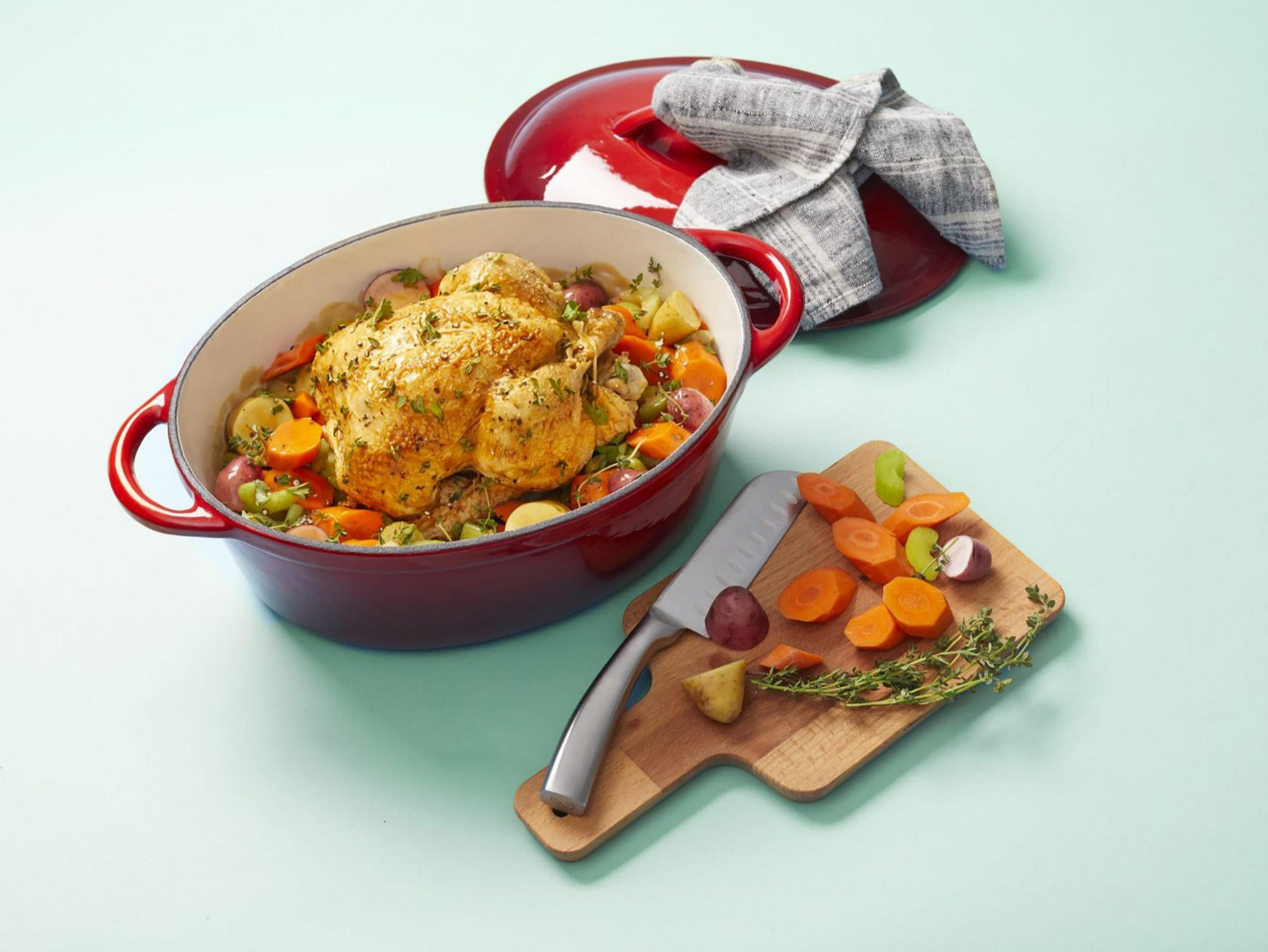 Lidl Is Selling a $20 Dutch Oven—But Not for Long 1810w-Lidl-Dutch-Oven-Chicken