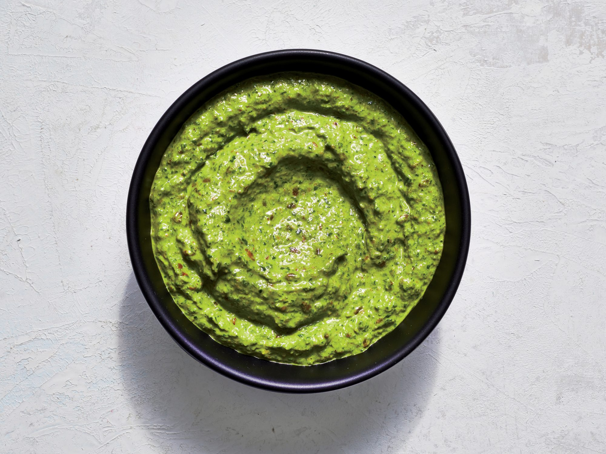 Flaxseed and Parsley Pesto