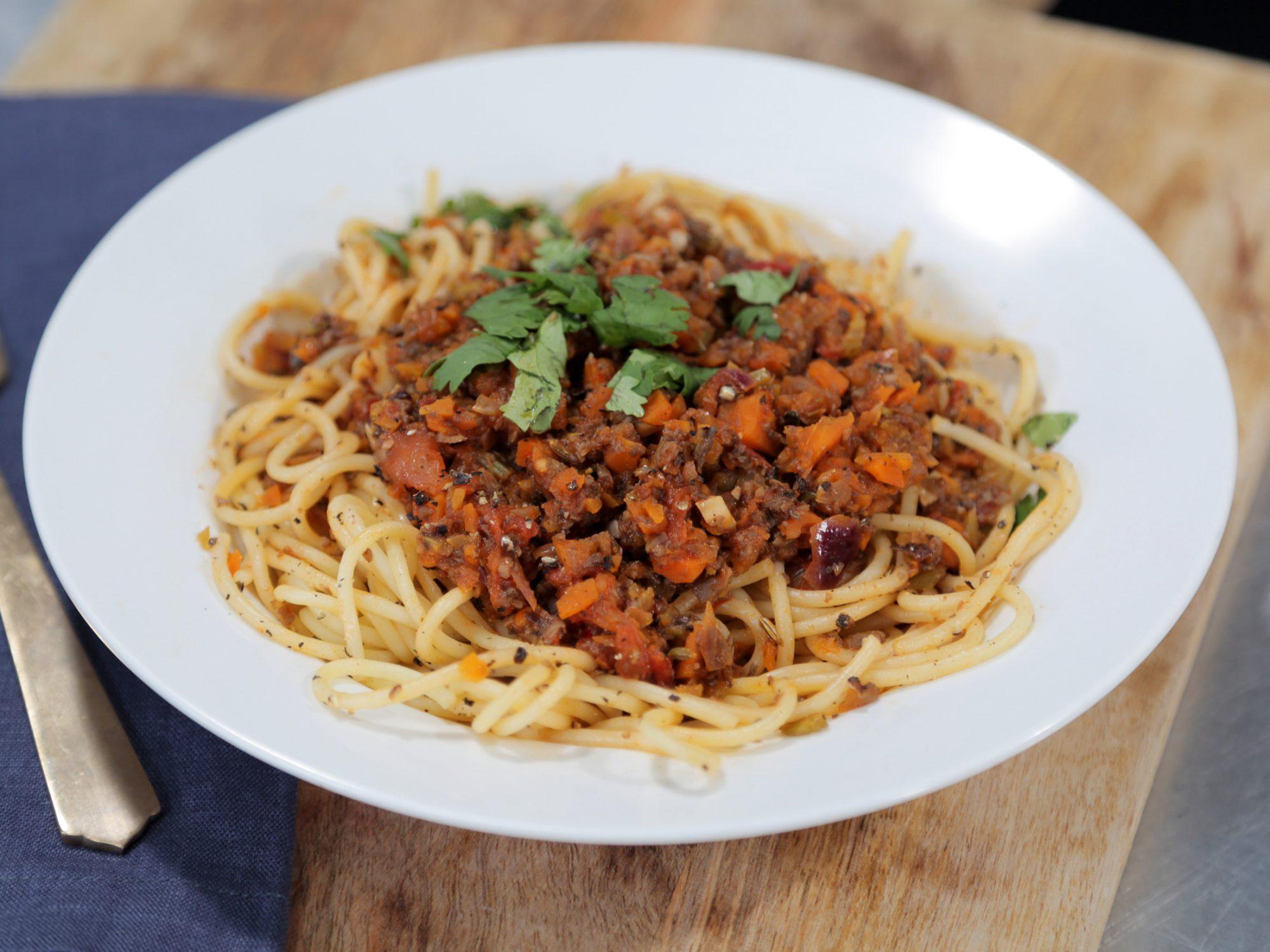 Vegan Spaghetti Bolognese image