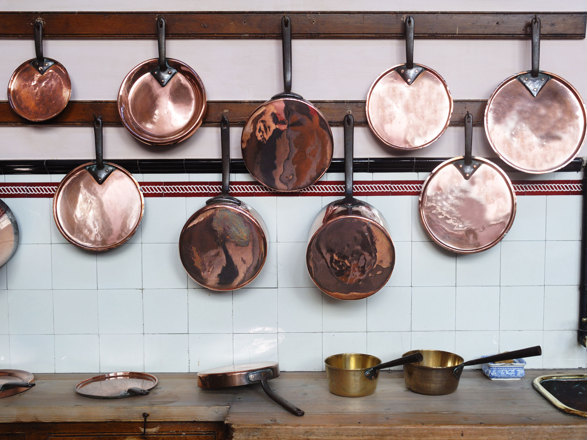 To old with pots copper do what Old copper