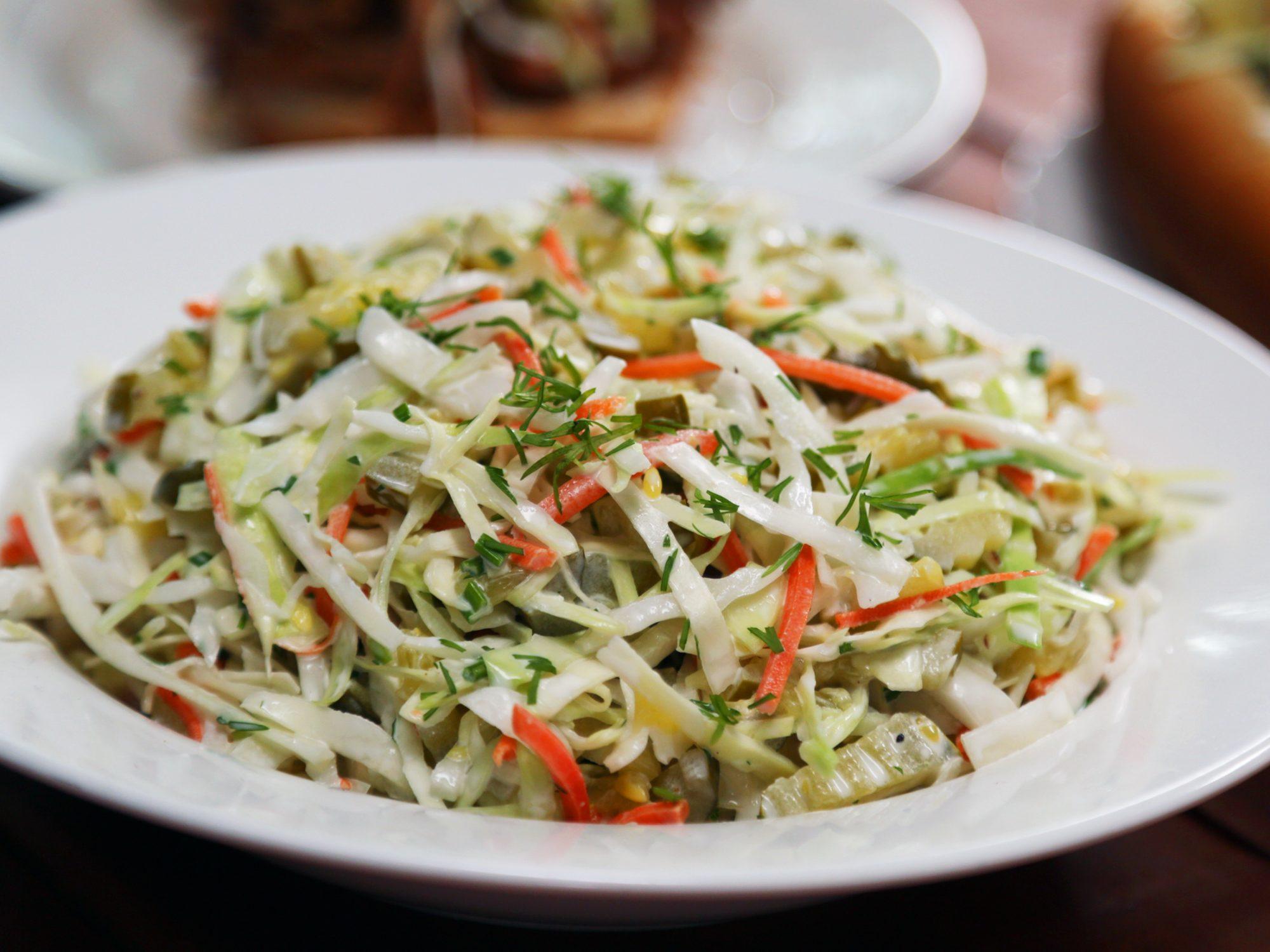 Pickle Coleslaw image