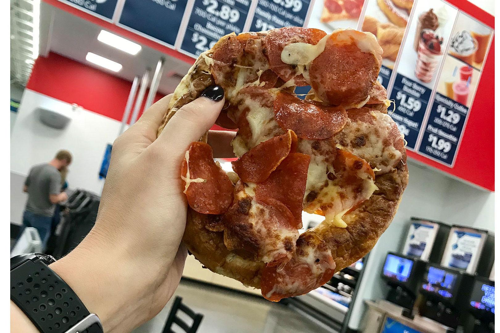Sam's Club Cafe Pizza Pretzel