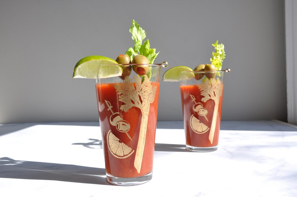 Bloody Mary Glasses, Set of 2