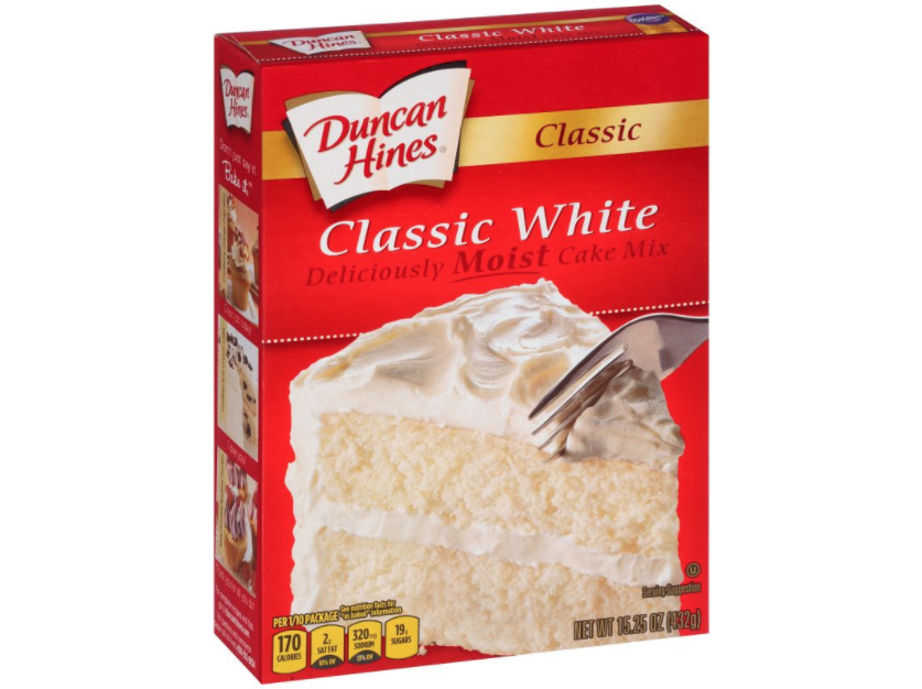 Duncan Hines Classic White Mix