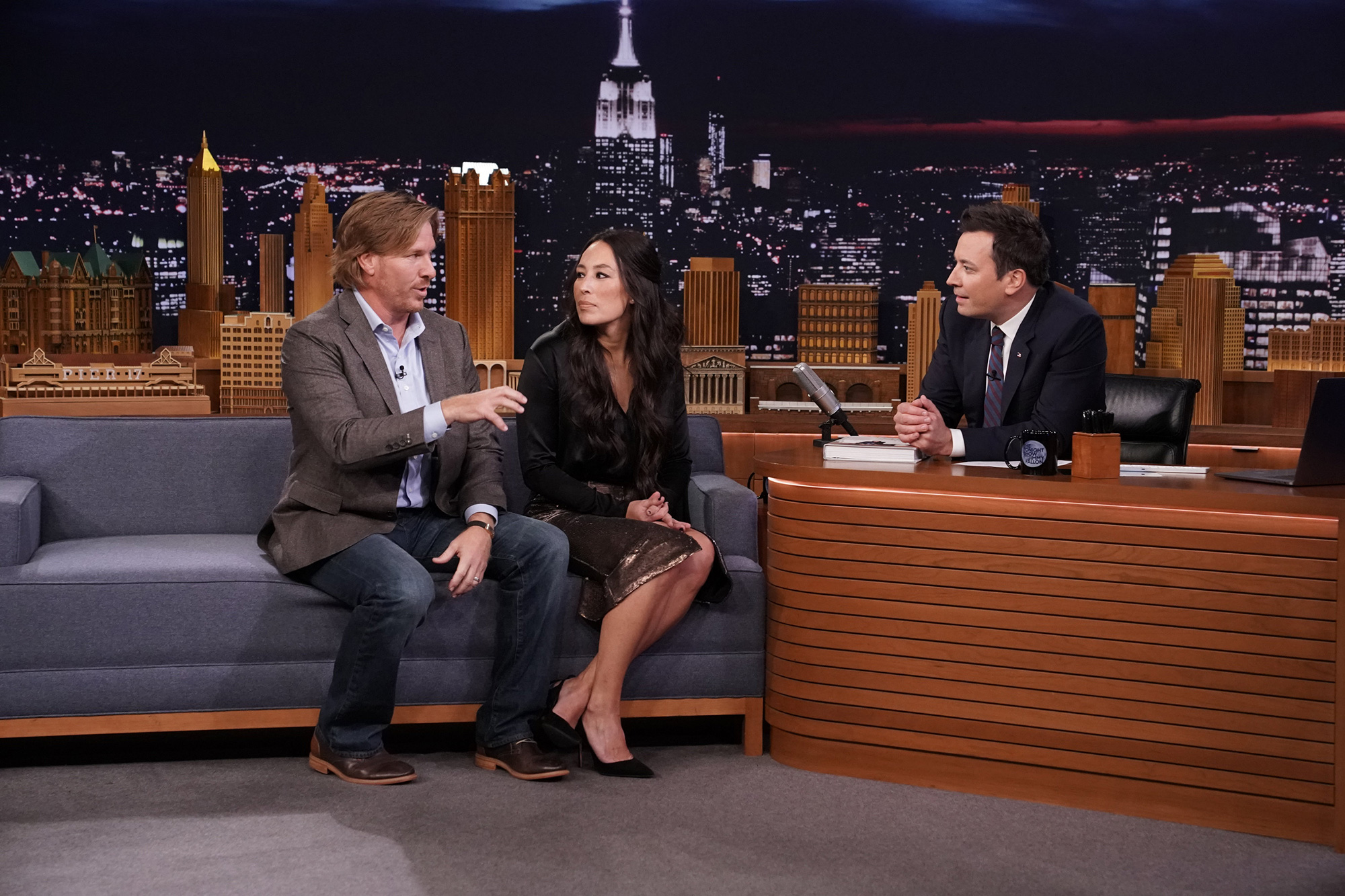 Chip & Joanna Gaines Are Returning to TV with Their Own Discovery Network: 'Excited to Be Back!' chip-joanna-tonight-show-jimmy-fallon