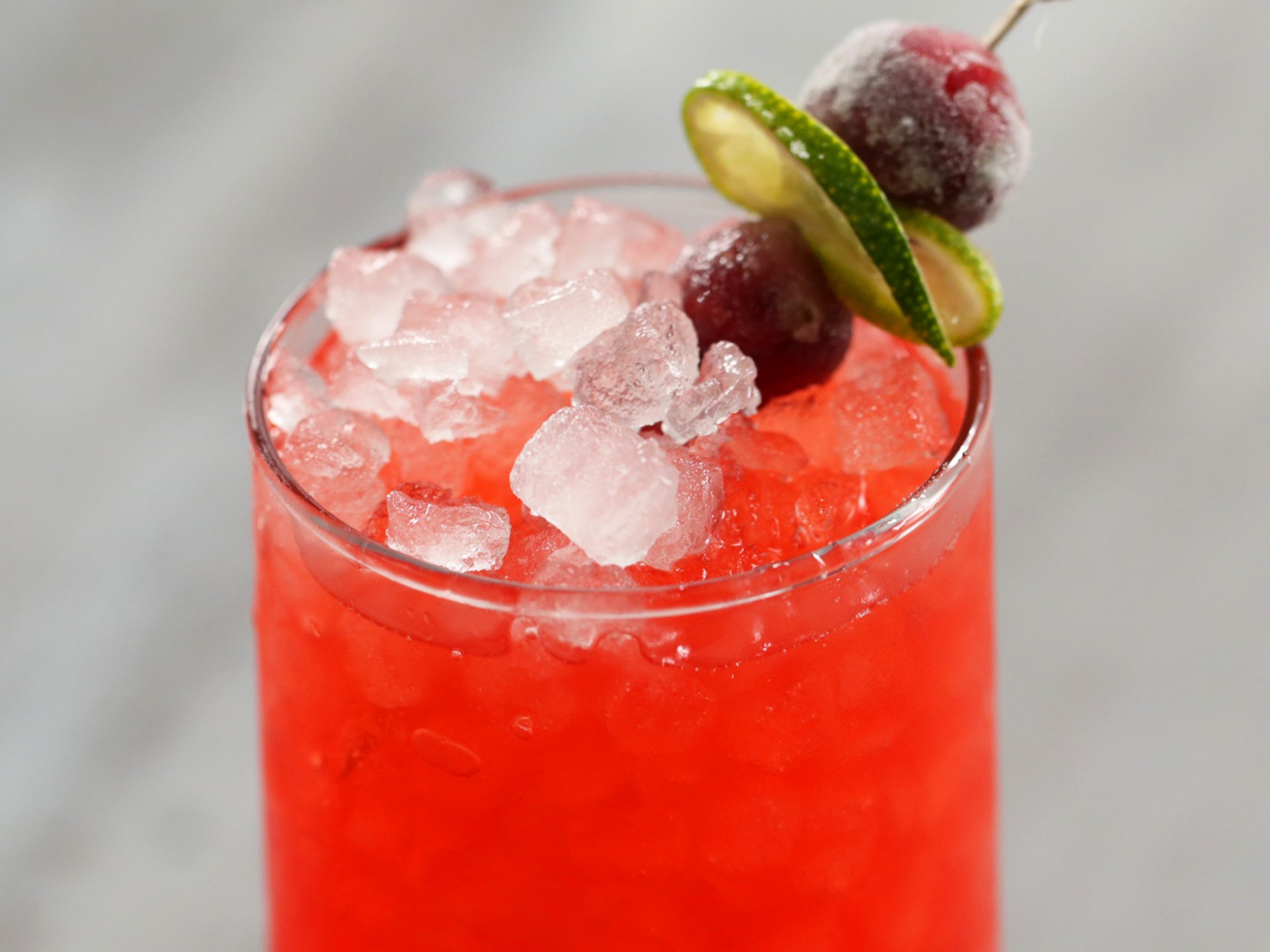 Cranberry-Limeade Spritzer image