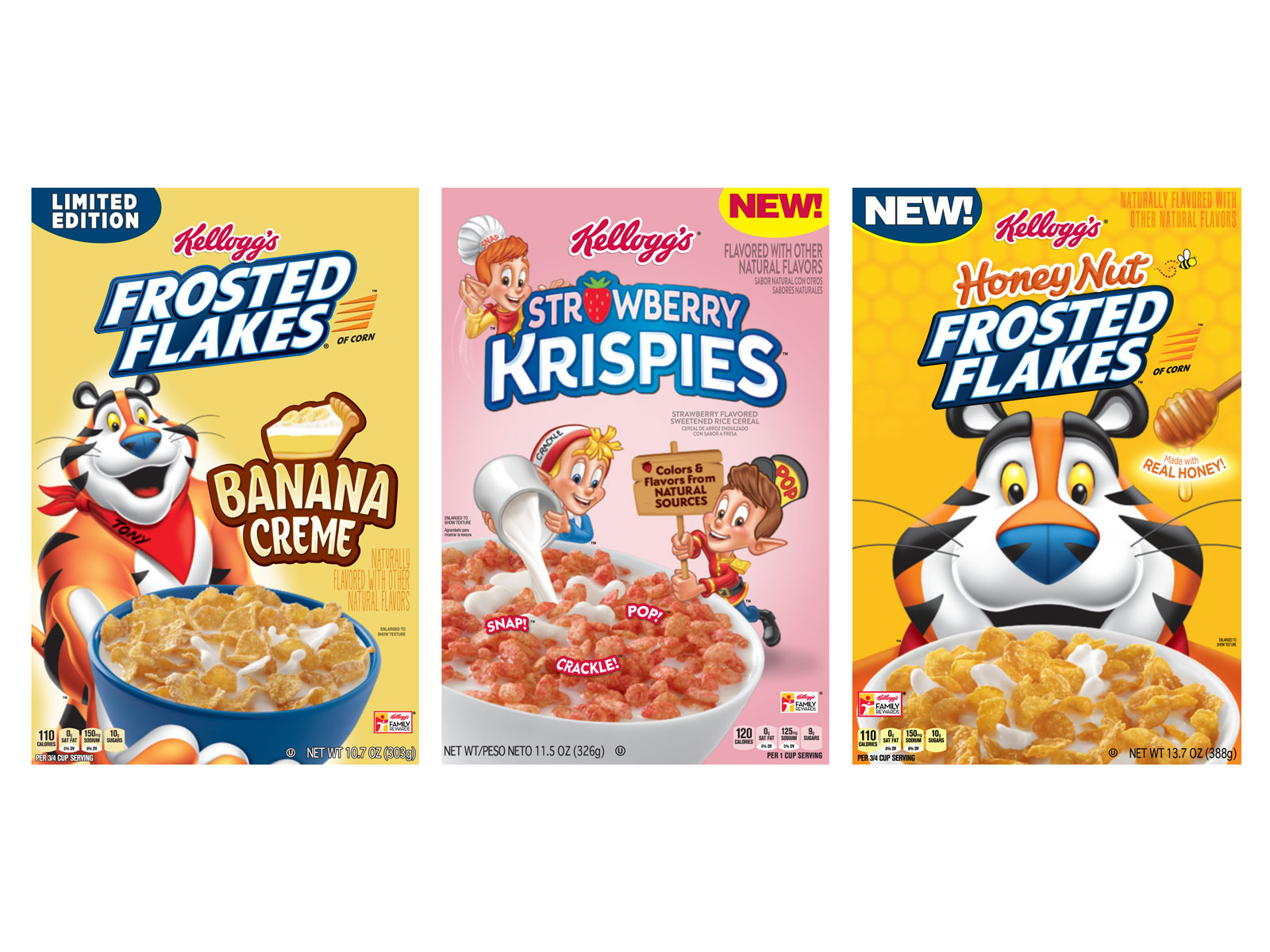 New Kellogg's Cereal