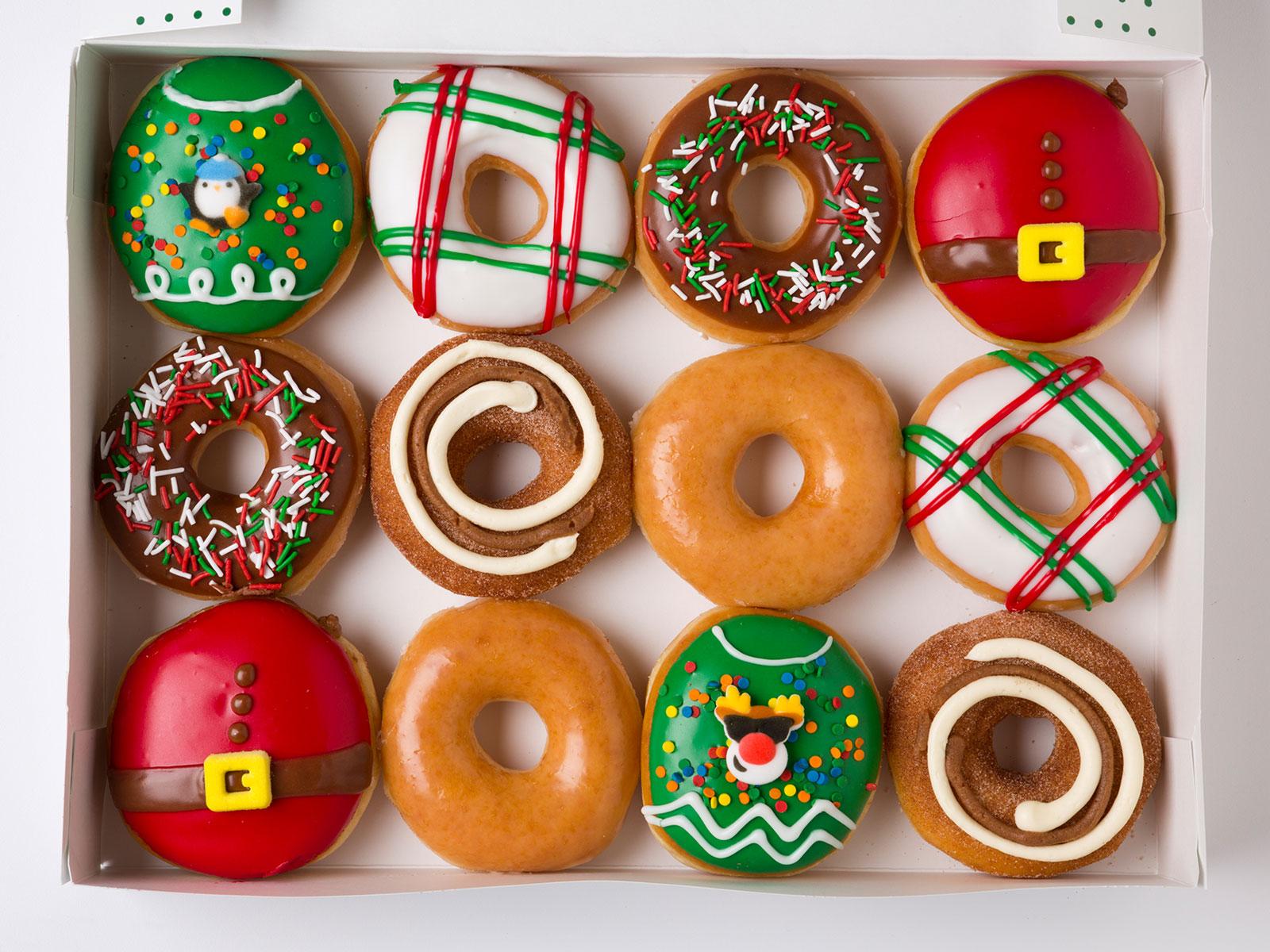 Krispy Kreme Ugly Sweater Doughnuts