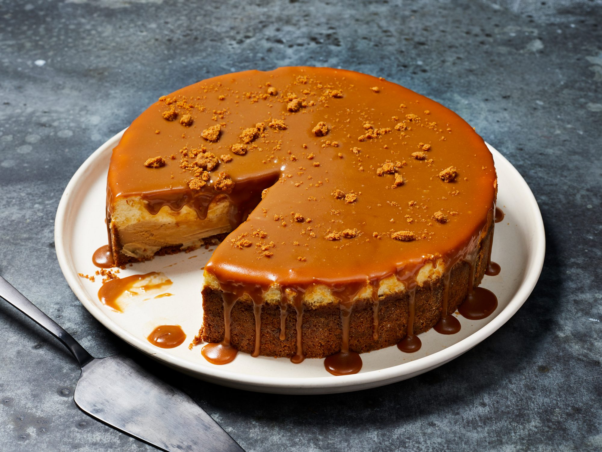 Cookie Butter Cheesecake image