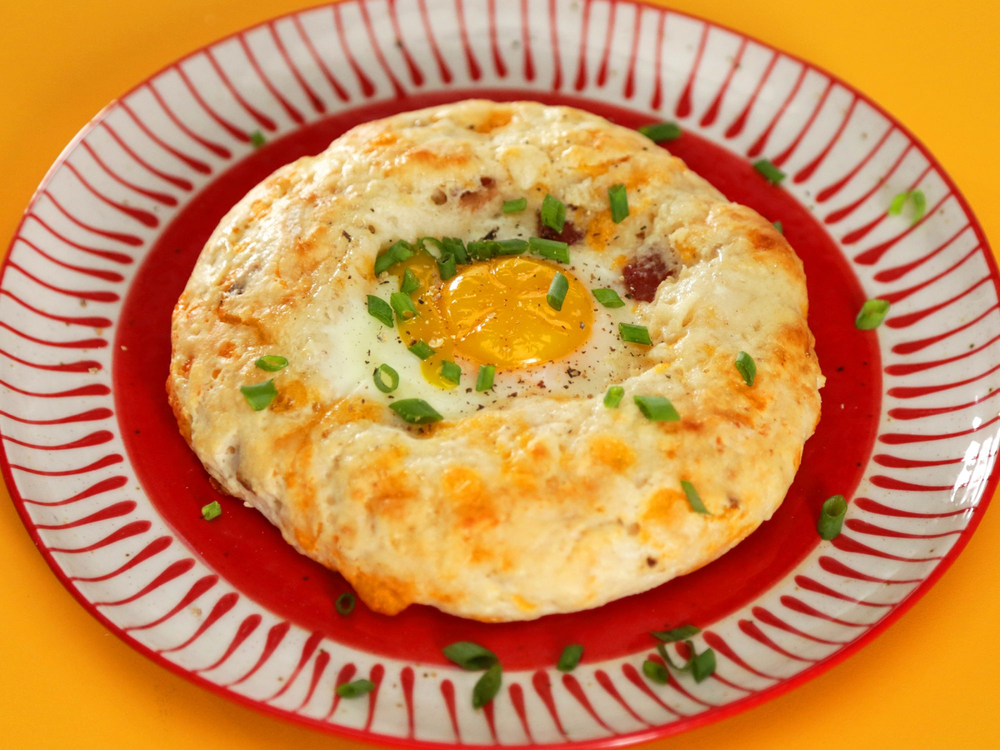 Savory Breakfast Cookies image