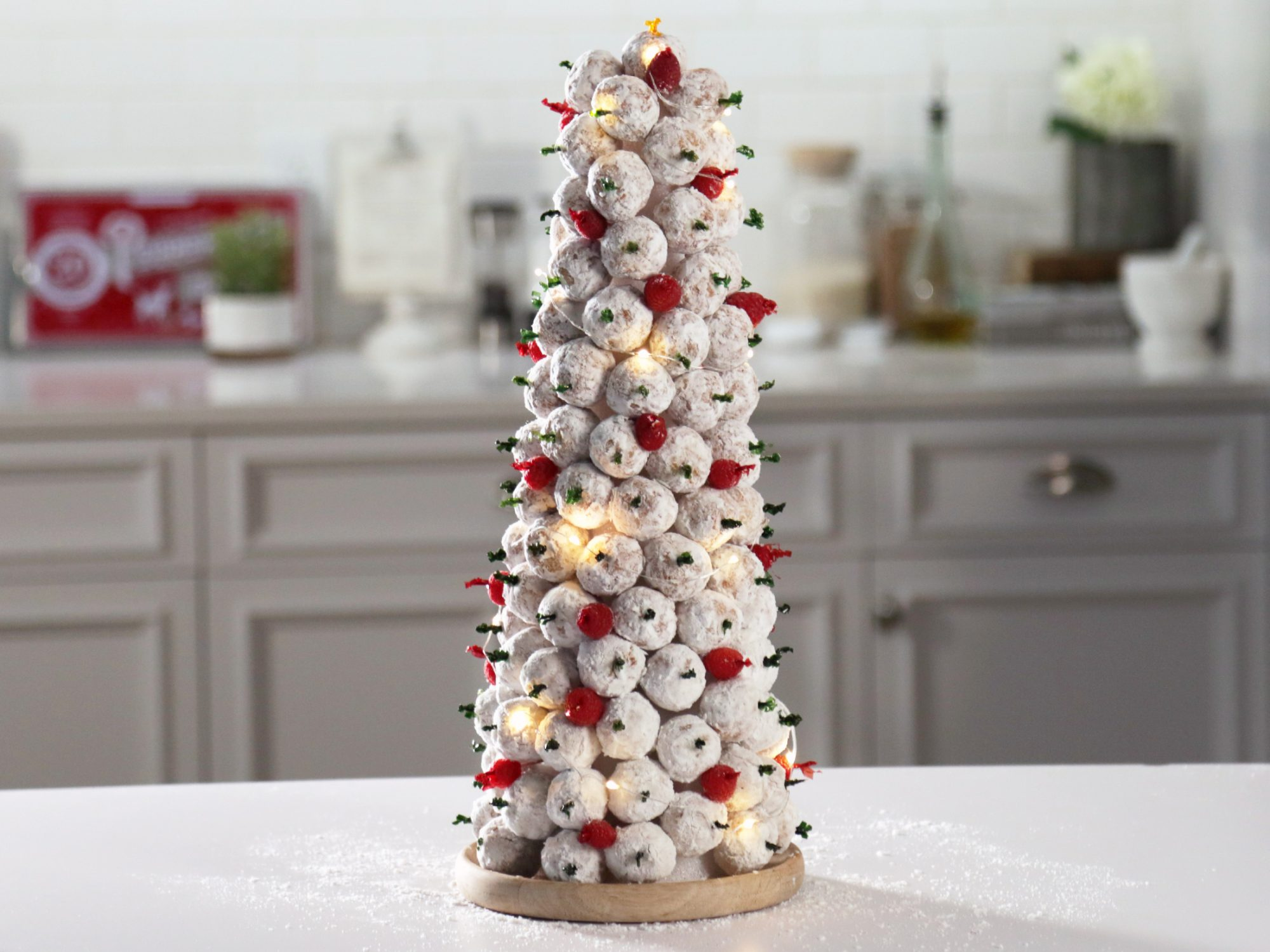 Donut Hole Christmas Tree image