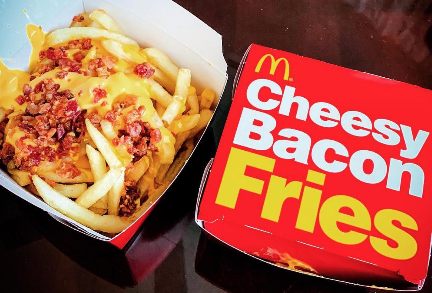 McDonald's Cheesy Bacon Fries