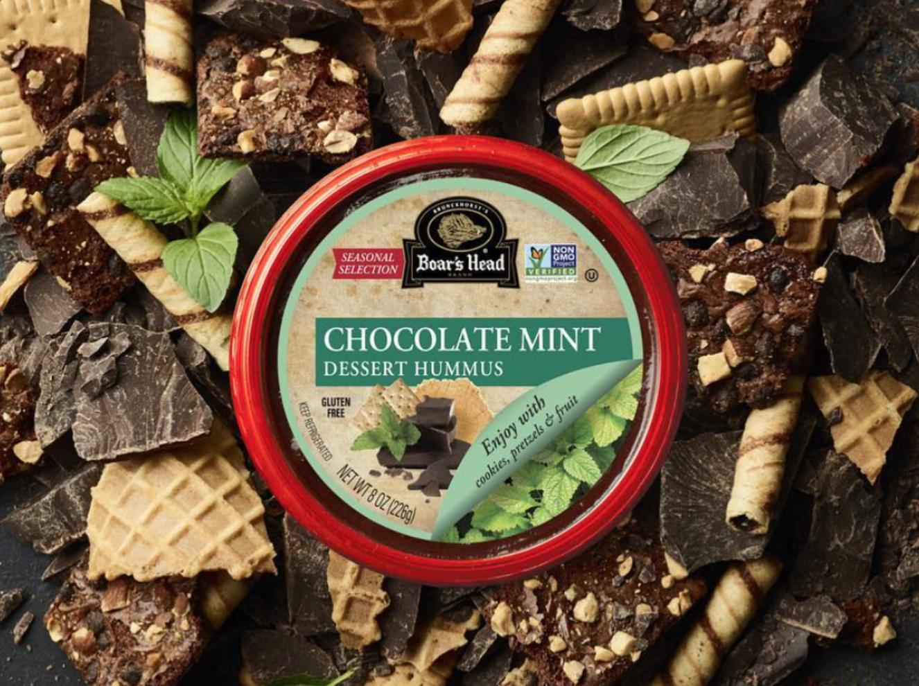 Mint Chocolate Hummus
