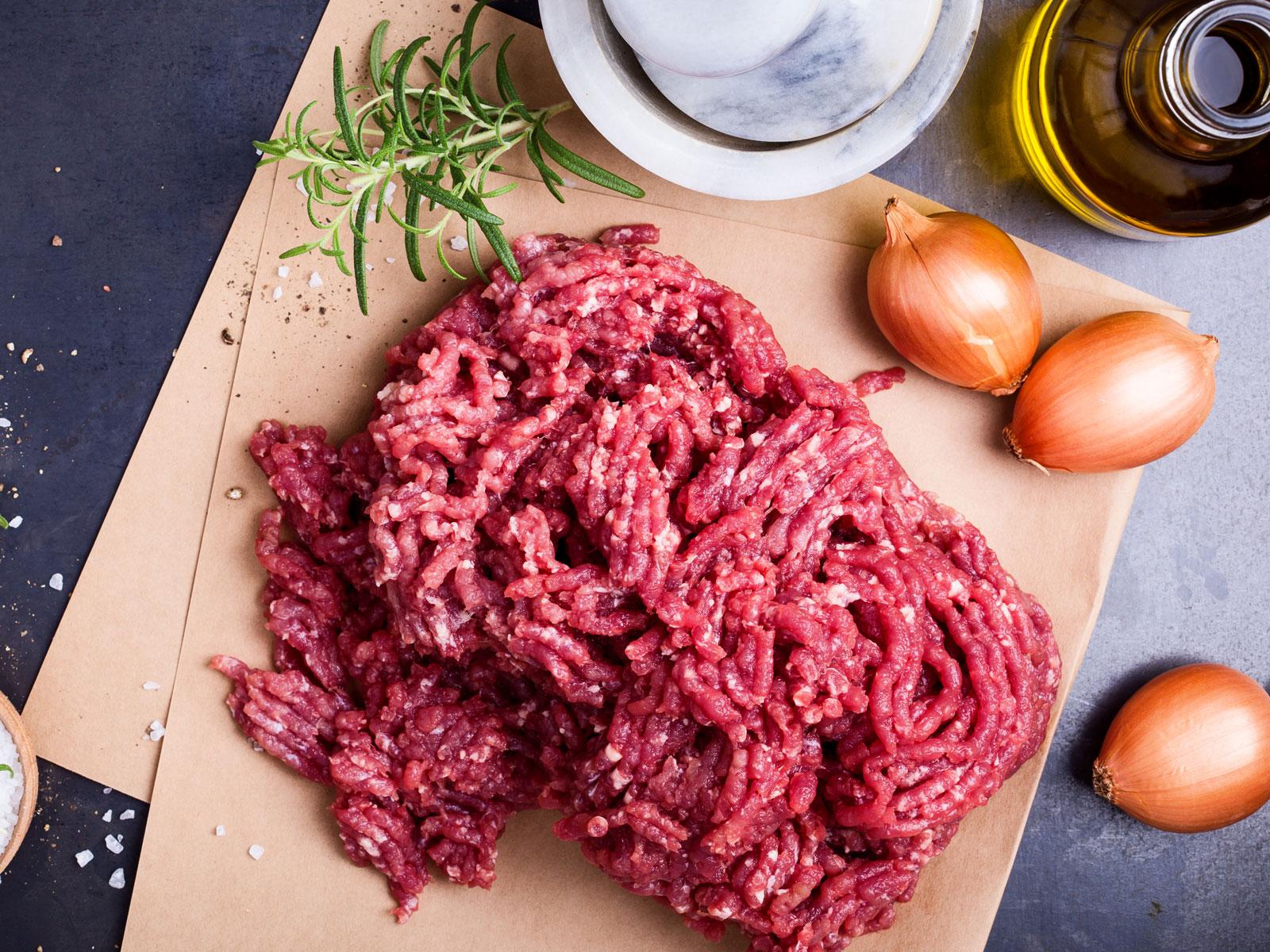 CDC Ground Beef Warning
