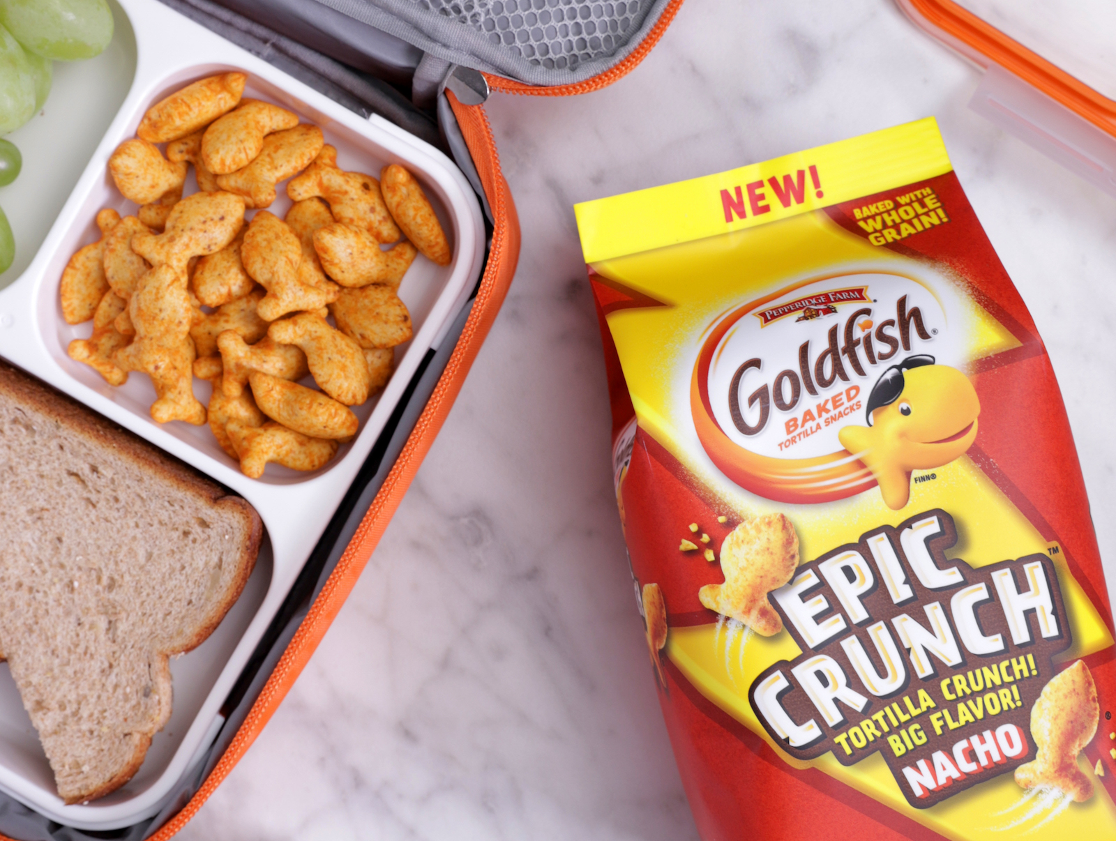 Goldfish Crackers Meet Tortilla Chips with 'Epic Crunch' Variety