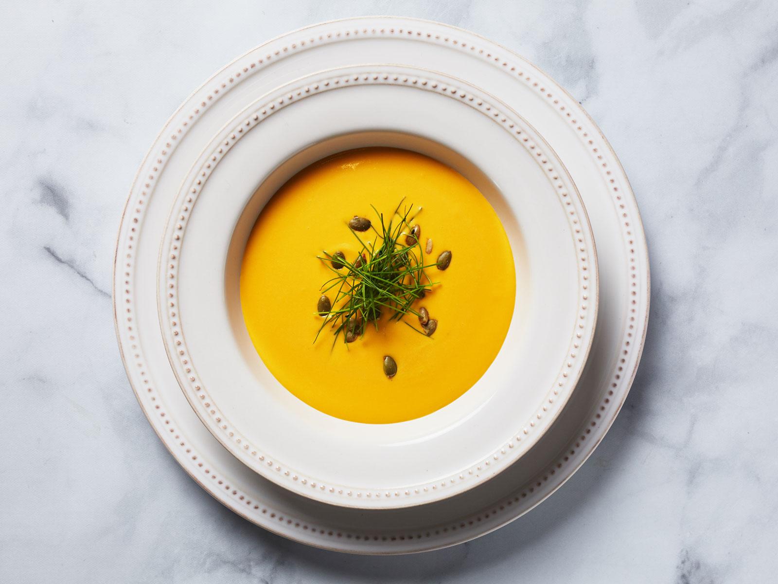 Sweet potato vichyssoise