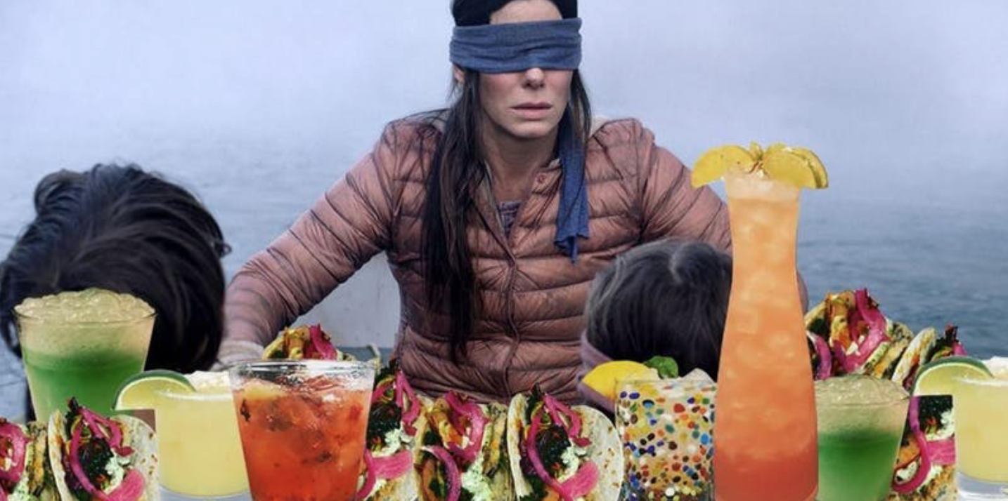 Apparently Restaurants Are Hosting 'Bird Box' Dinners Now