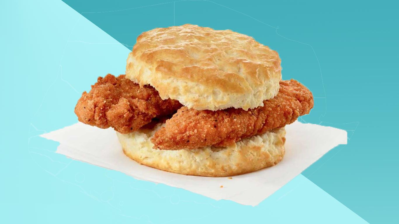 spicy chicken biscuit